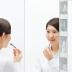[洗面所]三面鏡・洗面水栓・収納
