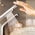 [キッチン]タッチスイッチ 水ほうき水栓/浄水器